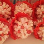 Bouquets de marshmallows