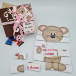 Puzzle do Amor com 21 chocolates – Ref.L1 – 10,00€